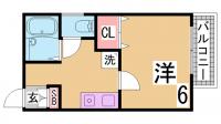 ソアール須磨[301号室]の間取り