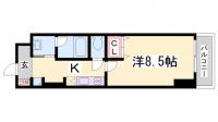コスモコート元町[11階]の間取り
