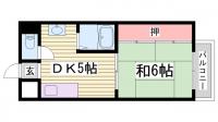 中一東ビル[305号室]の間取り