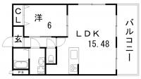 プレジール兵庫駅前[103号室]の間取り