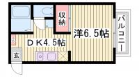 サンコート諏訪山[2階]の間取り