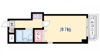 ヴィラ元町[3階]の間取り