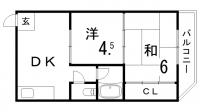 稲垣ビル[303号室]の間取り