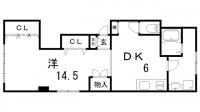 エムコート布引[2階]の間取り