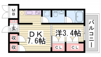 g+[7階]の間取り