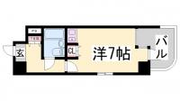 ニューブ神戸[309号室]の間取り