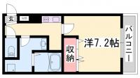 シュマンセプト神戸[102号室]の間取り