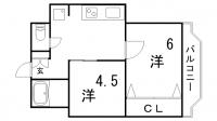 シルフィードARATA[3階]の間取り