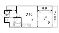 ワコーレ新神戸マスターズレジデンス[602号室]の間取り