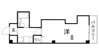 メゾンシルフィード[3E号室]の間取り