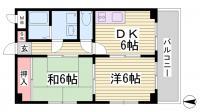 ビューポート神田[305号室]の間取り