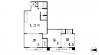 鯉川マンション[101号室]の間取り