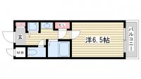 ロイヤルヒル神戸三宮Ⅱ[5階]の間取り