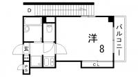 東邦マンション[2階]の間取り