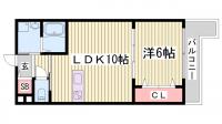 ブリリオ神戸北野町[1階]の間取り