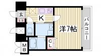 アドバンス神戸アルティス[15階]の間取り