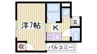 LM神戸第2[601号室]の間取り