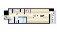LAV☆神戸三宮[14階]の間取り