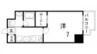 Ulysses新神戸[7階]の間取り