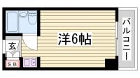 カサベラ神戸[5階]の間取り