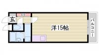 阿迦井ビル[501号室]の間取り