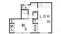 辻野マンション[2階]の間取り