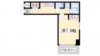 カーサ神戸下山手[10階]の間取り