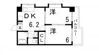 サンビルダー三宮[10階]の間取り