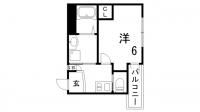 ワコーレヴィータ神戸中山手[2階]の間取り