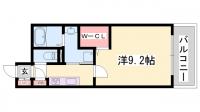 L・Isobe三宮[9階]の間取り