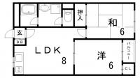 山手ビルマンション[5階]の間取り