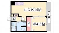 ワコーレ下沢PartⅡ[4階]の間取り