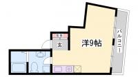 HK元町ビル[801号室]の間取り