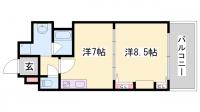 KAISEI新神戸[706号室]の間取り