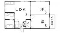 宝星ビル[3階]の間取り