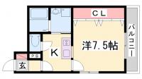 M's 三宮[3階]の間取り