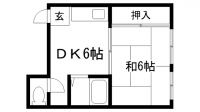 ОKマンション[302号室]の間取り