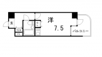 ニューブ神戸[4階]の間取り