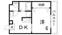 レーベンハイム[3階]の間取り
