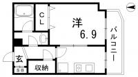 ファゼンダ78[3階]の間取り