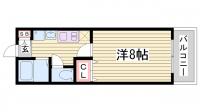 SANKOガルフタワー[501号室]の間取り