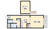 第2立花ビル[401号室]の間取り