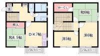 中島ハイツ[102号室]の間取り