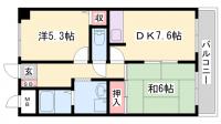 井上マンションⅡ[205号室]の間取り