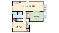 セジュールME伊藤[B203号室]の間取り