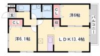 ヘーベルマンション大久保1・2[1-103号室]の間取り
