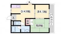 G-AKIRA[2-E号室]の間取り