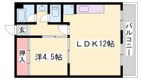孫助ビル[3階]の間取り