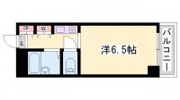 メゾンモンテ[201号室]の間取り