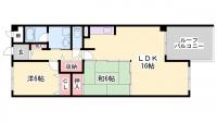 シーサイドパストラル林崎Ⅱ[3階]の間取り